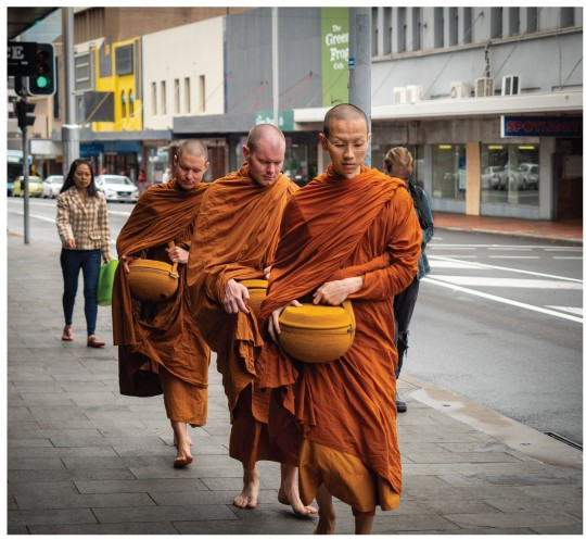 Alms Round in Wollongong